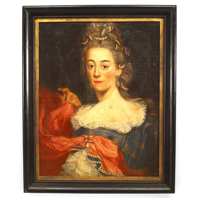 American Victorian Lady Portrait For Sale In New York - Image 6 of 6