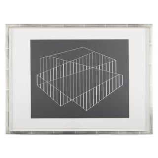 Josef Albers Formulation: Articulation Folio II Folder 6 For Sale