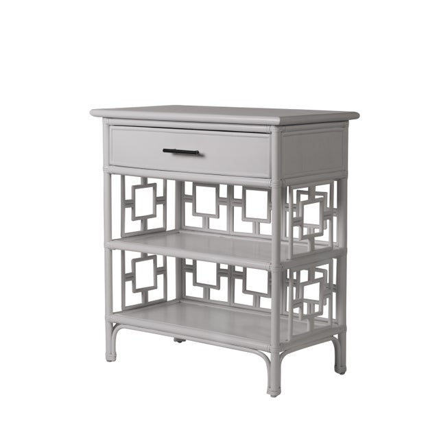 Sobe End Table - Light Gray For Sale In West Palm - Image 6 of 6