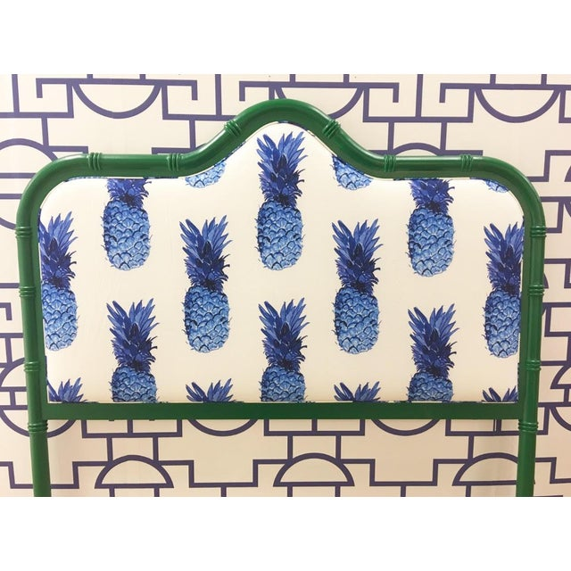 Taylor Burke Home Emerald Queen Bamboo Headboard - Image 2 of 3