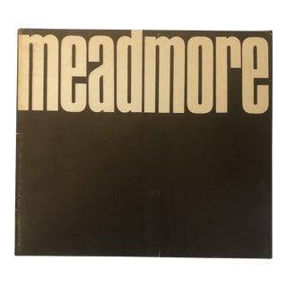 Clement Meadmore Sculpture Exhibition Catalogue 1973 For Sale