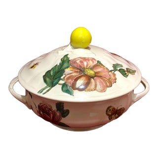 Villeroy & Boch Bouquet Large Round Vegetable Tureen For Sale
