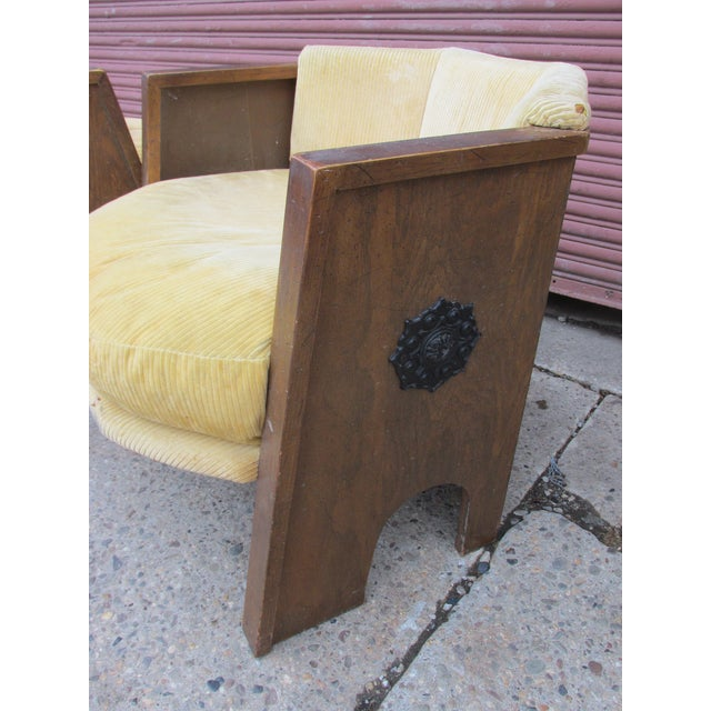 Adrian Pearsall for Mastercraft Pair of Chairs For Sale In Philadelphia - Image 6 of 9