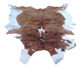 Image of Newly Made Cow Hide Rugs