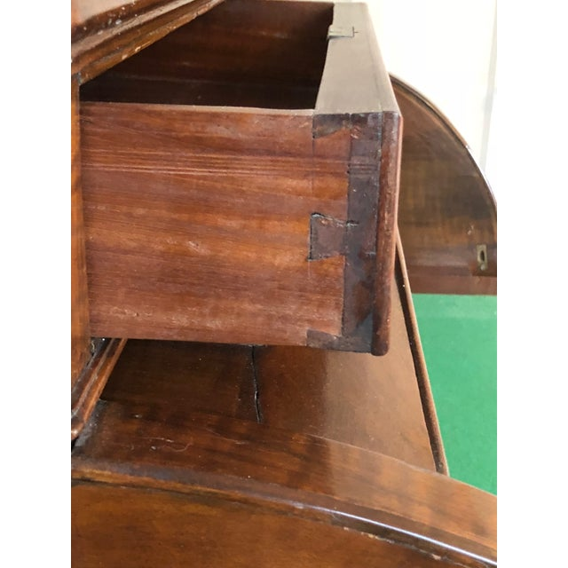 Early 20th Century Victorian Style Rolltop Desk For Sale - Image 5 of 10