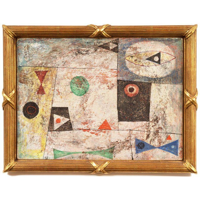 Isami Adachi Geometric Abstract 1950s For Sale - Image 11 of 11