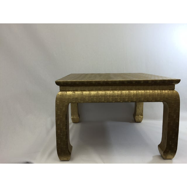 Gold Ming Foot Small Table - Image 5 of 5