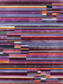 Image of Newly Made Striped Rugs