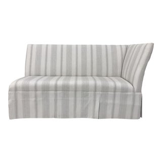 Century Furniture Skirted Corner Banquette For Sale
