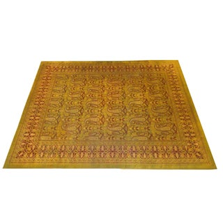 Antique Agra Rug - 12' x 9' For Sale