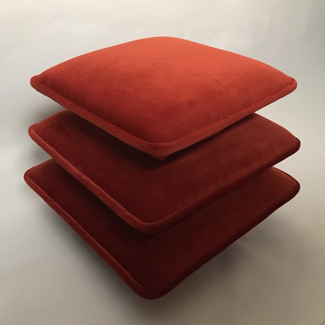 Final Markdown Stacked Cushion Ottoman For Sale - Image 9 of 9