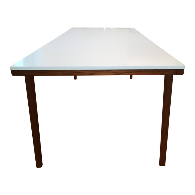 West Elm Modern Dining Table For Sale