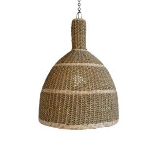 Kuba Seagrass Lantern Small For Sale