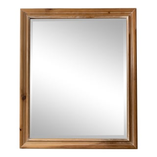 Tradtional Style - Wood Framed Mirror For Sale