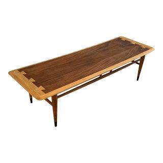 Lane Acclaim 1963 Mid Century Modern Surfboard Coffee Table For Sale