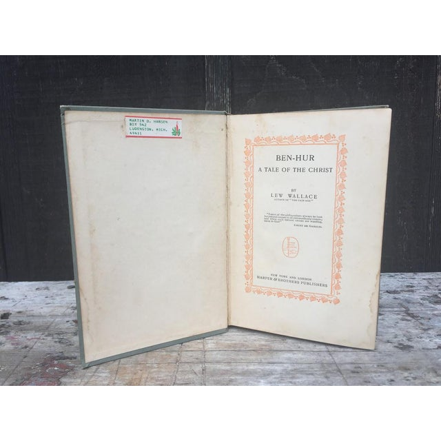 Ben Hur by Lew Wallace C.1900 For Sale - Image 5 of 7