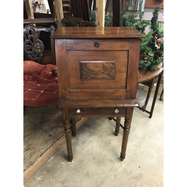 Late 19th Century 19th Century Early American Eastlake Oak Ladies Desk For Sale - Image 5 of 5