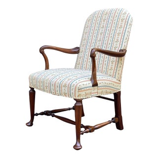 Hickory Chair Mahogany Arm Chair For Sale