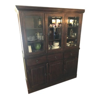 Adirondack Style Refined Hutch For Sale
