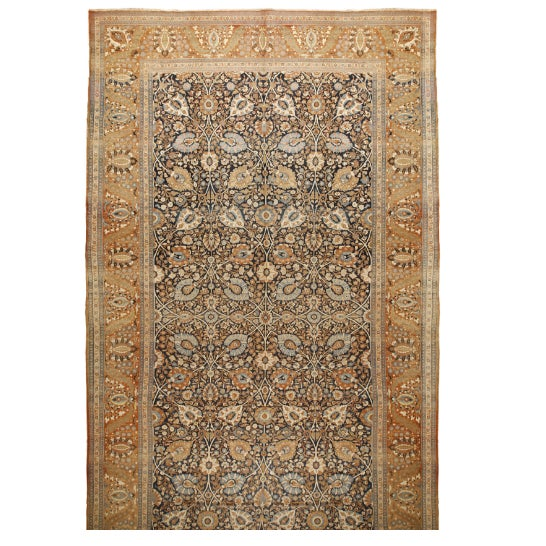Antique Tabriz Carpet - Image 1 of 1