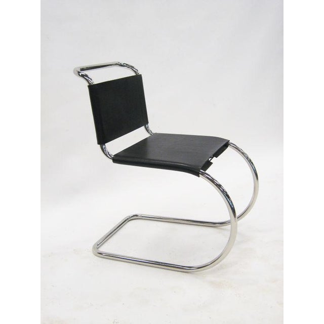 1960s Ludwig Mies van der Rohe MR chairs by Knoll For Sale - Image 5 of 8
