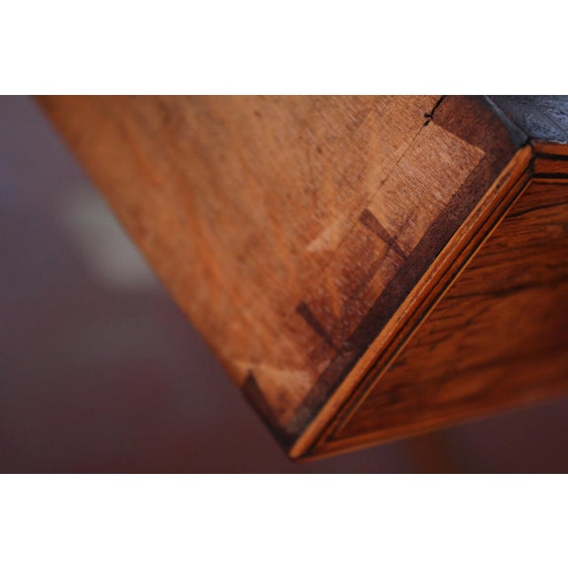 Antique Victorian Rosewood Writer's Desk For Sale - Image 10 of 13