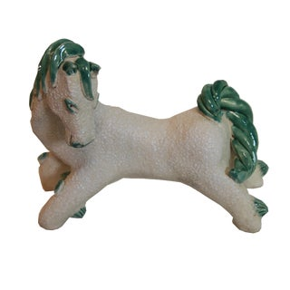 Colette Gueden for Altelier Primavera Ceramic Horse For Sale