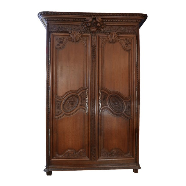 French Wedding Armoire - Image 1 of 7