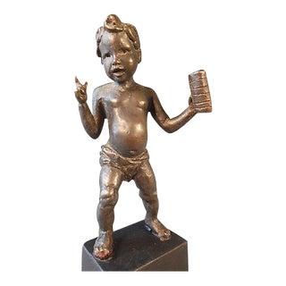 Neoclassical Bronze Figure For Sale