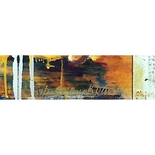 "Limited edition hand painted Artist Proof mixed media giclee on canvas titled ""Hawaiian Islands"" by Hawaiian artist..."