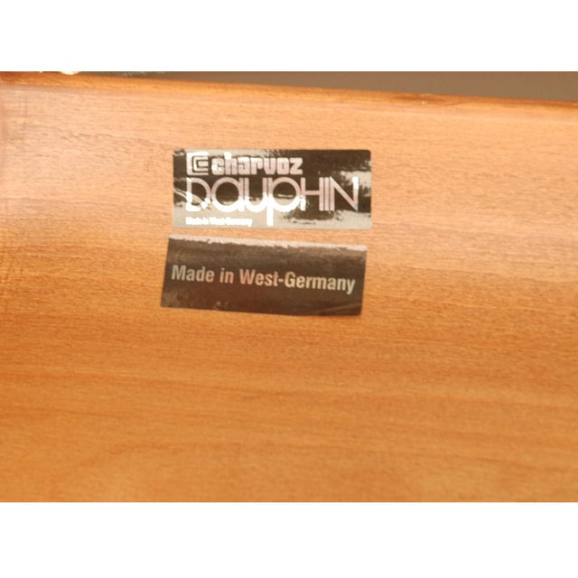 Modern Leather German Chairs - A Pair - Image 6 of 6