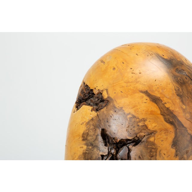 Single Turned Wood Object by Chuck McLaughlin For Sale - Image 11 of 13