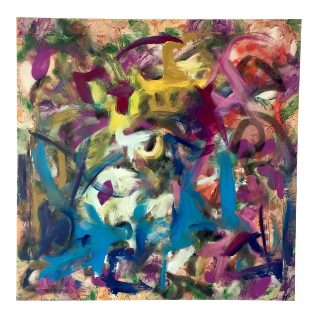Erik Sulander Contemporary Acrylic & Oil Painting For Sale