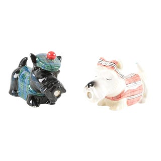 Westland Scottish Terrier Salt & Pepper Shakers - A Pair