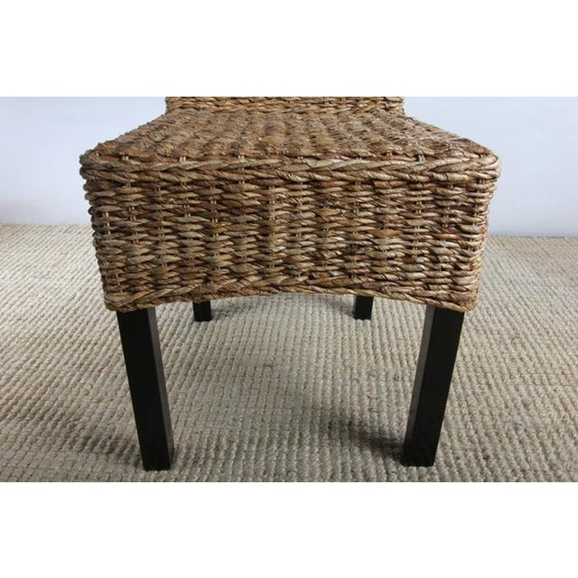 Rattan Dining Chairs - Pair - Image 5 of 8