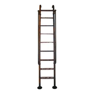 Vintage 9' Steel American Playground Ladder