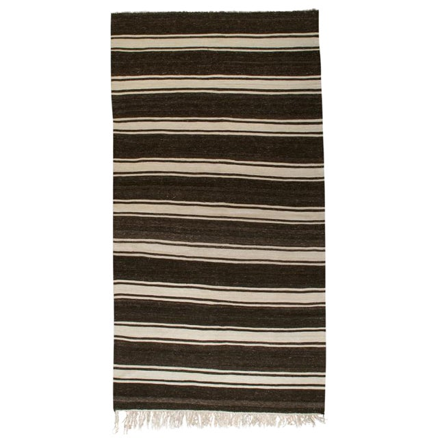 Banded Kilim For Sale