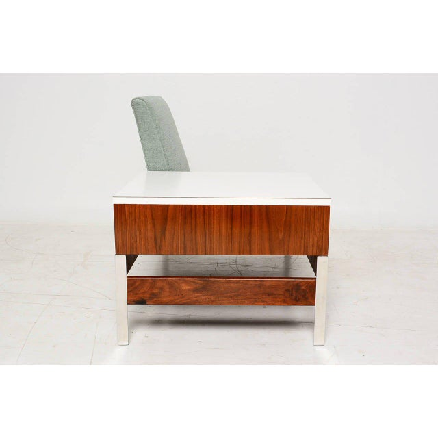 Mid-Century Seat & Table - Image 8 of 10
