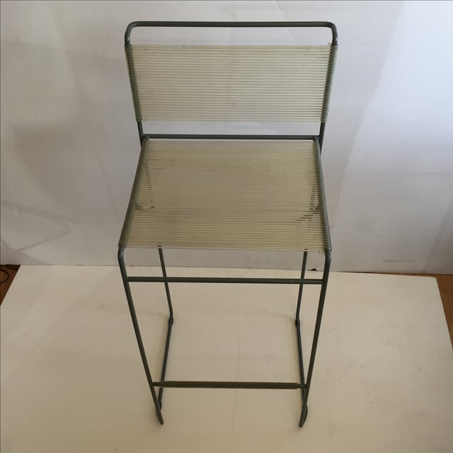 Giandomenico Belotti 1980's Spaghetti Bar Stool - Image 4 of 6