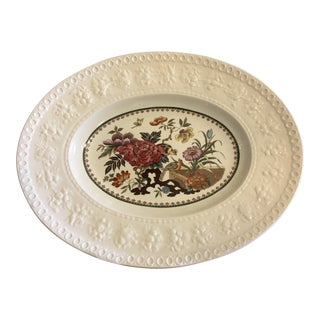 English Wedgwood Bullfinch Wellesley Serving Decorative Platter For Sale