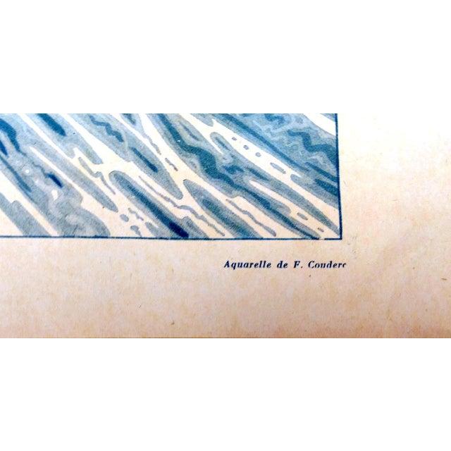 "1924 Le Sourire ""La Trempette"" Framed Print - Image 6 of 9"