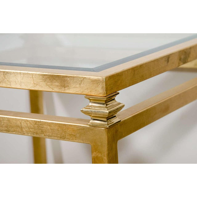 Pair of Gilt Iron Side Tables - Image 4 of 8