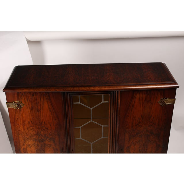 1930s French Deco Vitrine Cabinet - Image 3 of 7