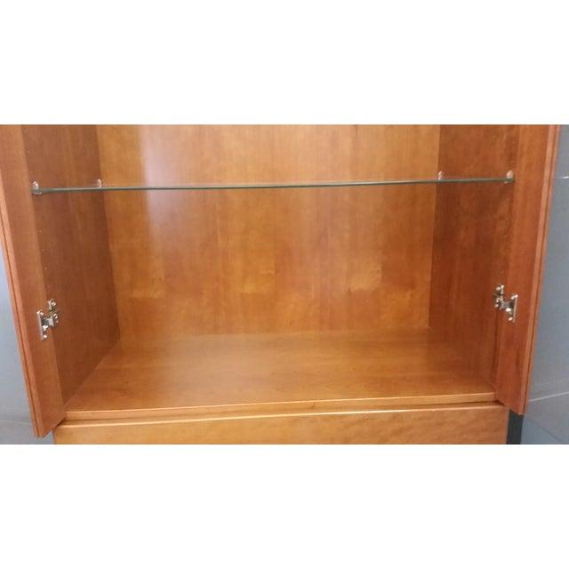 Skovby #352 Display Cabinet in Cherry Wood - Image 3 of 5