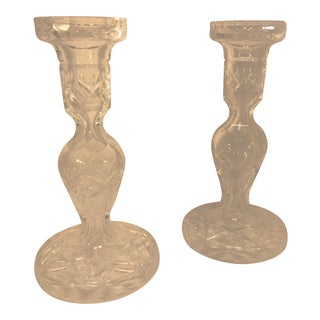 """Waterford Crystal Candlesticks 7.5"""" - A Pair For Sale"""