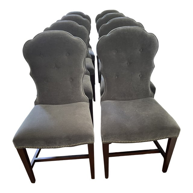 Lillian August Dining Chairs - Set of 8 For Sale