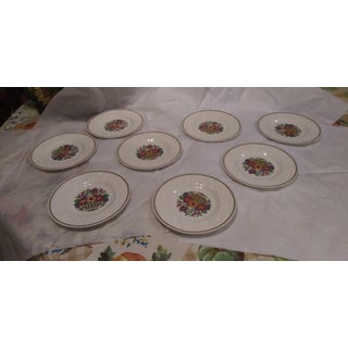 1920s Wedgewood Patrician Plates - Set of 8 Preview
