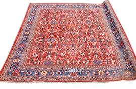 Image of Royal Blue Traditional Handmade Rugs