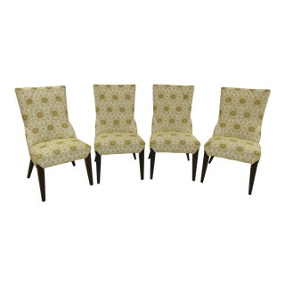 Larry Laslo Directional Dining Side Chairs- Set of 4 For Sale