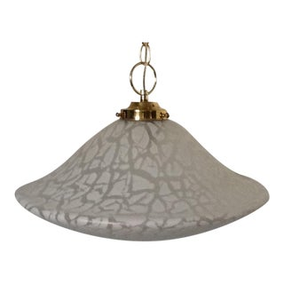 Mid-Century Murano Ceiling Light